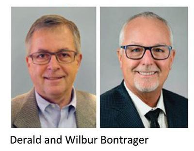 Wilbur and Derald Bontrager