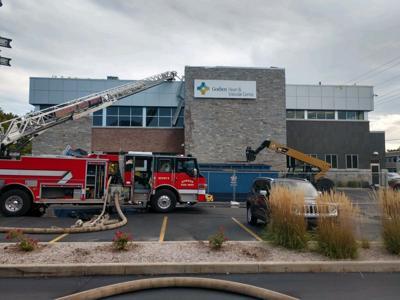 Firefighters at Goshen Heart & Vascular Center