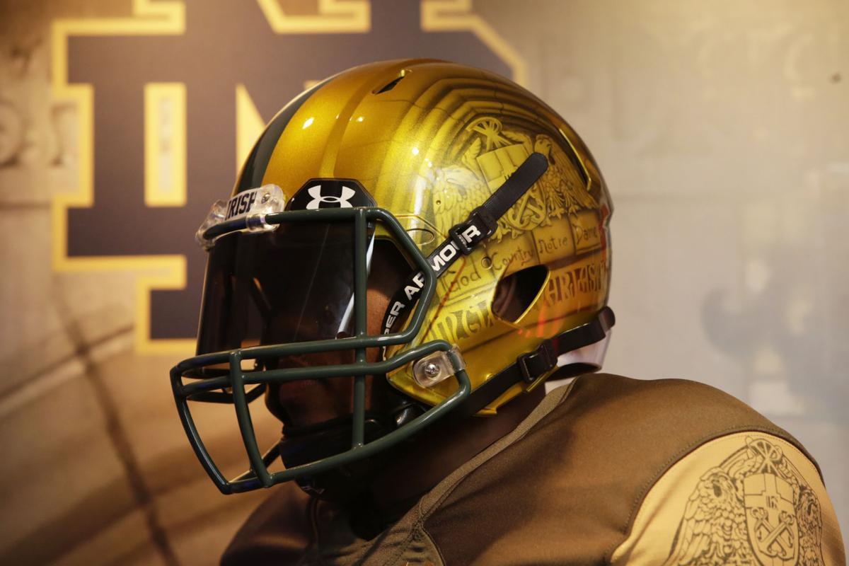 af34860bd Notre Dame football 2016 Shamrock Series uniforms