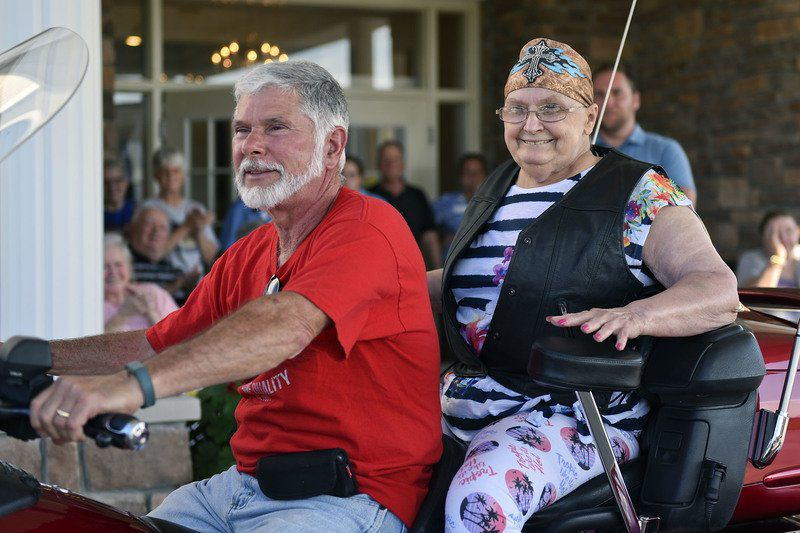 Goshen cancer patient has wish for one more motorcycle ride fulfilled