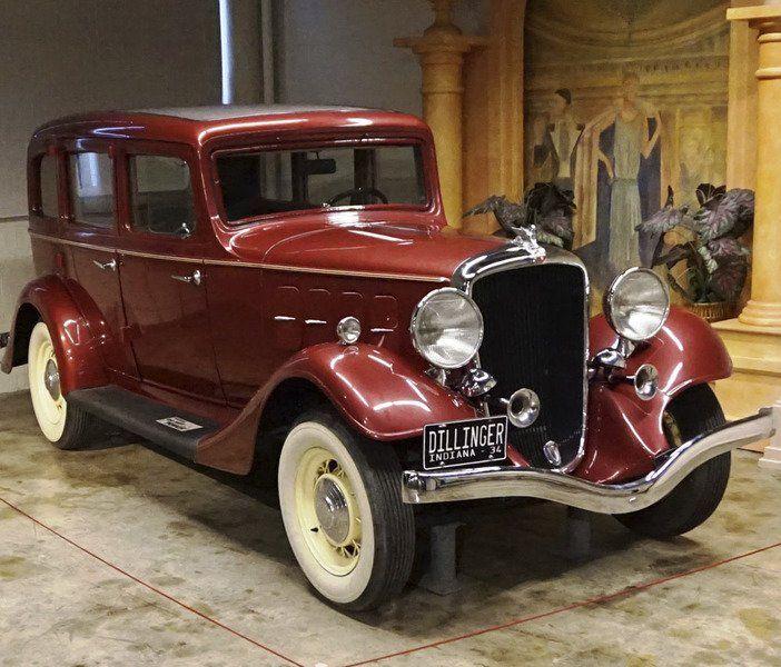 Dillinger Car At Auburn Museum