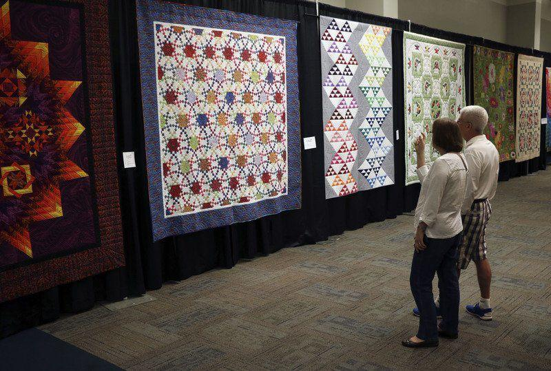 Quilts Dazzle During Shipshe Festivals 10th Run Local News
