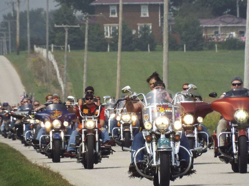 Hundreds of motorcyclists to rumble the roads, raising money for Vans for Vets
