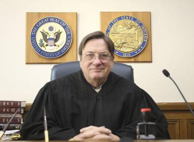 Retiring Judge George Biddlecome ready for a long vacation