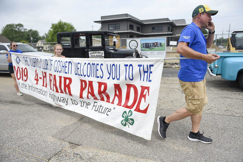 After 16 years, fair parade director to pass reins