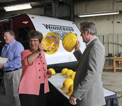 Winnebago Towable breaks ground on new Middlebury facility