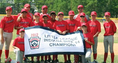 LITTLE LEAGUE: Peebles' first homer keys Goshen's District 14