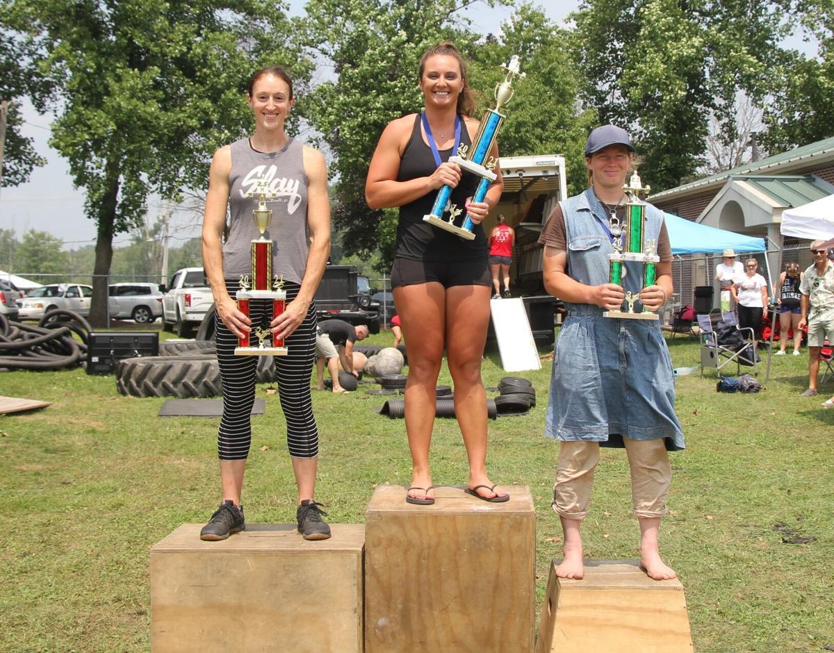 Women's lightweight strongman winners