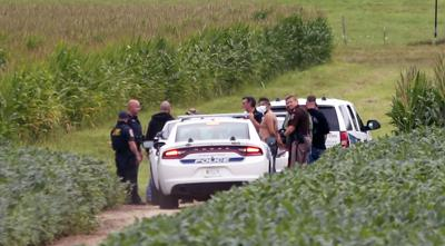 POLICE NEWS: Suspect arrested in field following pursuit