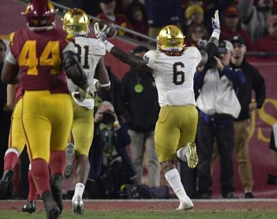 4a3048c34 NOTRE DAME FOOTBALL  Top 5 defining moments from the 2018 regular season