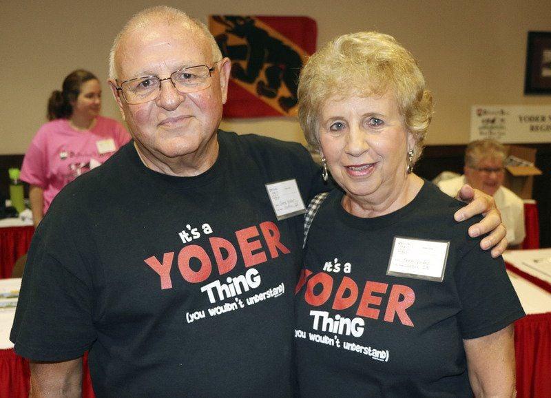 Yoder meets Yoder, Joder, Jotter in national reunion | Local News