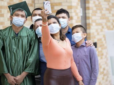 Concord virtual walk through graduation