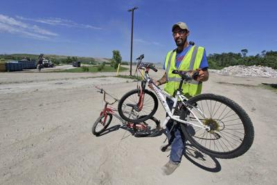"""Worker's bicycle recycle initiative worth """"a million"""" for every person helped"""