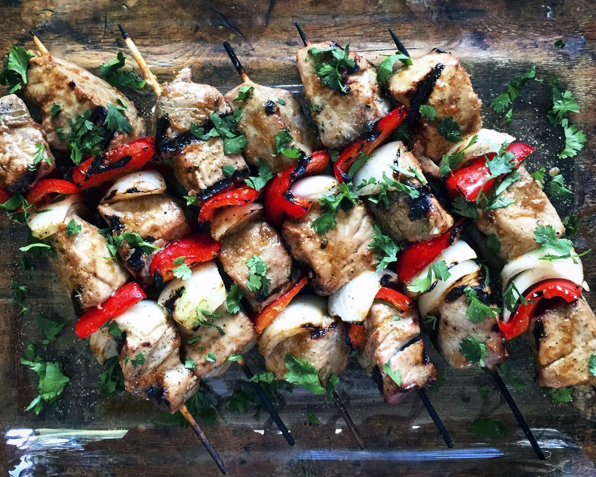 Tuna on the grill