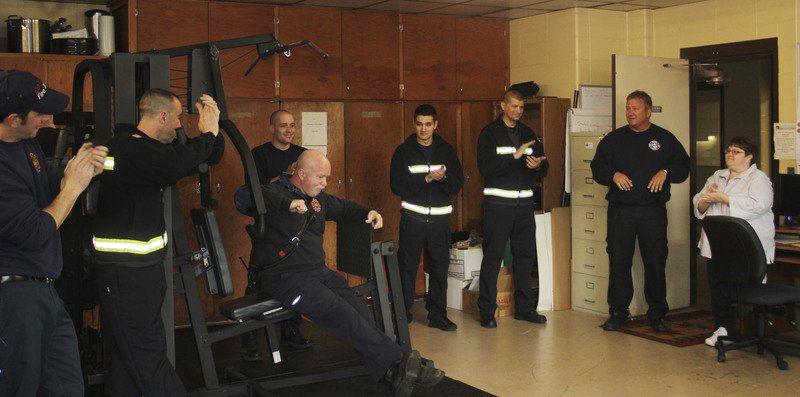 Retiring Goshen firefighter gets surprise