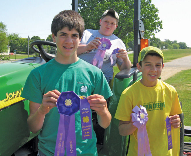 Roses In Garden: 4-H Farm And Garden Tractor Winners Advance To State Fair