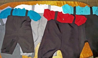 LOVINA'S AMISH KITCHEN: Baby Ryan receives outfits from grandma