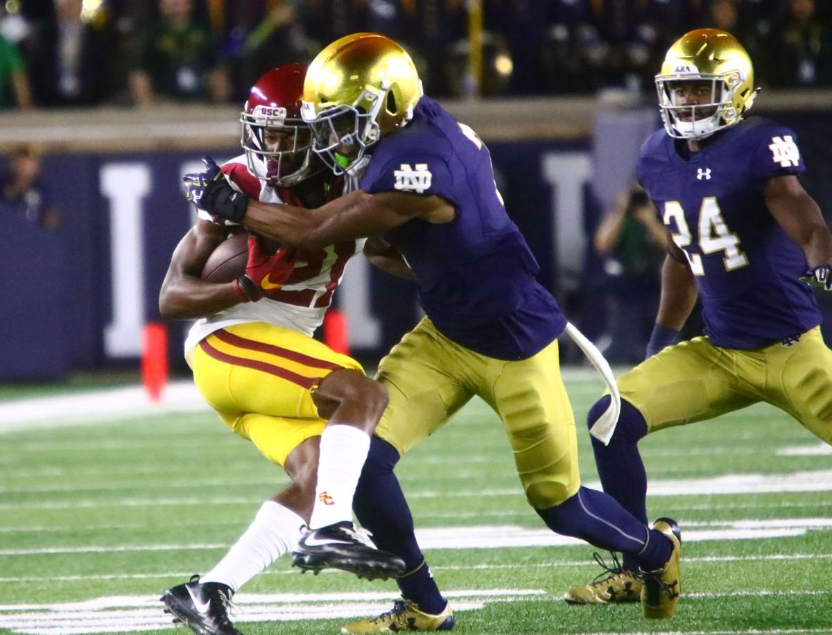 NOTRE DAME FOOTBALL: WR Stepherson getting reintegrated to ...