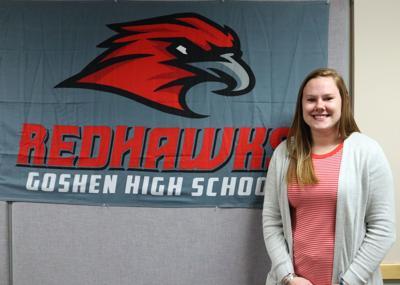 Melanie Meyer Goshen volleyball head coach