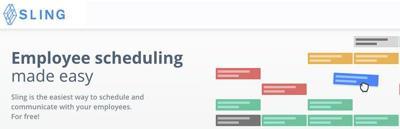 Sling: Employee scheduling madeeasy