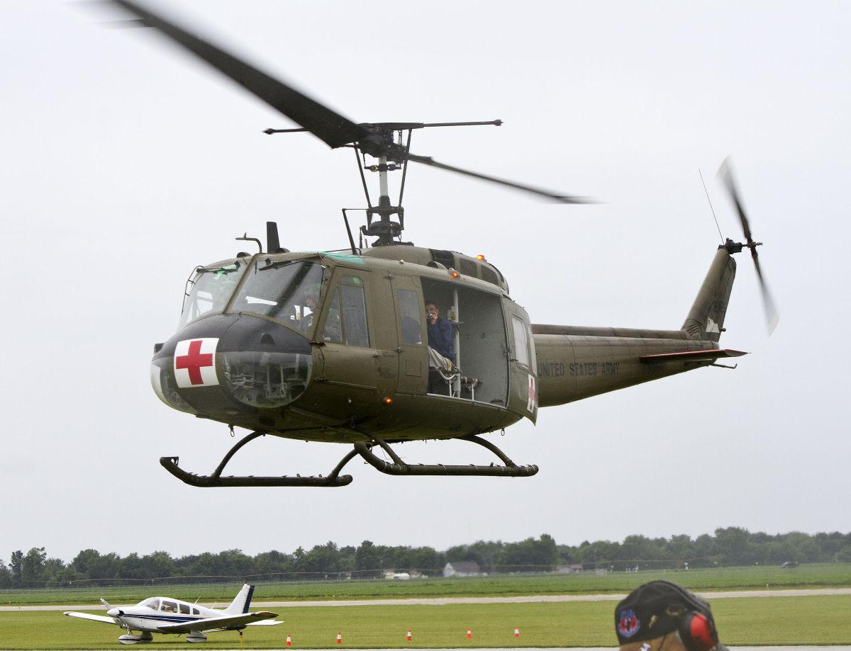 ROTORS & RIBS: Veterans enjoy rides in vintage helicopters   Local ...