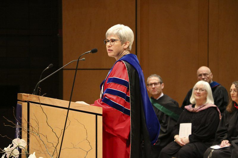 Goshen College inaugurates president Rebecca Stoltzfus
