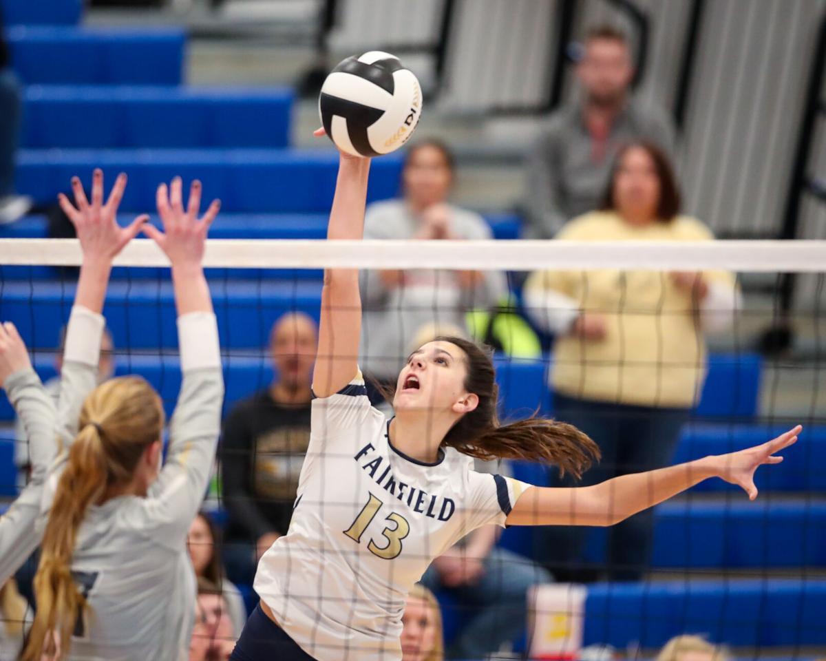 Rochester vs Fairfield HS Volleyball Regionals