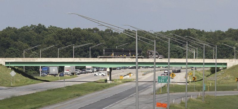 Gas leak shuts down part of Toll Road