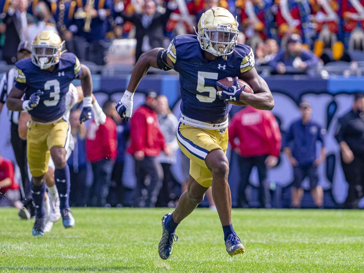 ND FOOTBALL: Wild fourth quarter leads to blowout win for Irish over Wisconsin