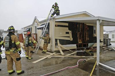POLICE NEWS: Home damaged in fire