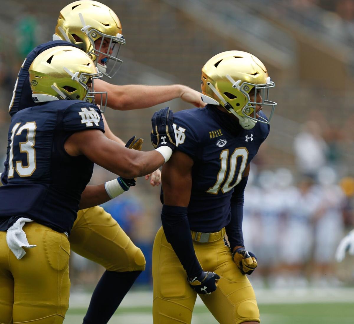 Isaiah Pryor Notre Dame vs. Duke