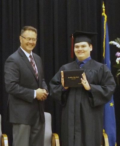 NorthWood student gets a special graduation ceremony