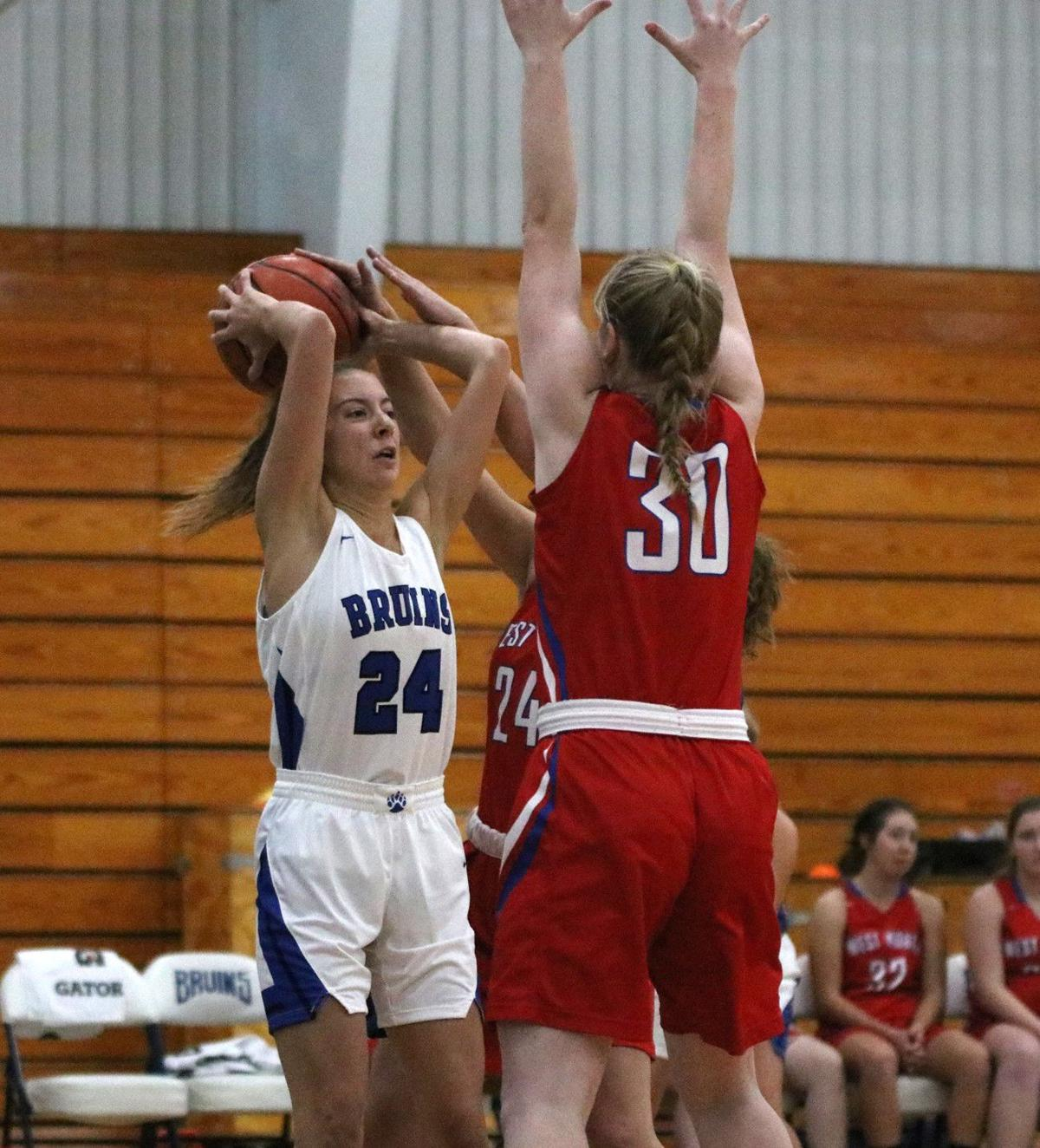 West Noble at Bethany Christian girls basketball 11 7 19 pic 02