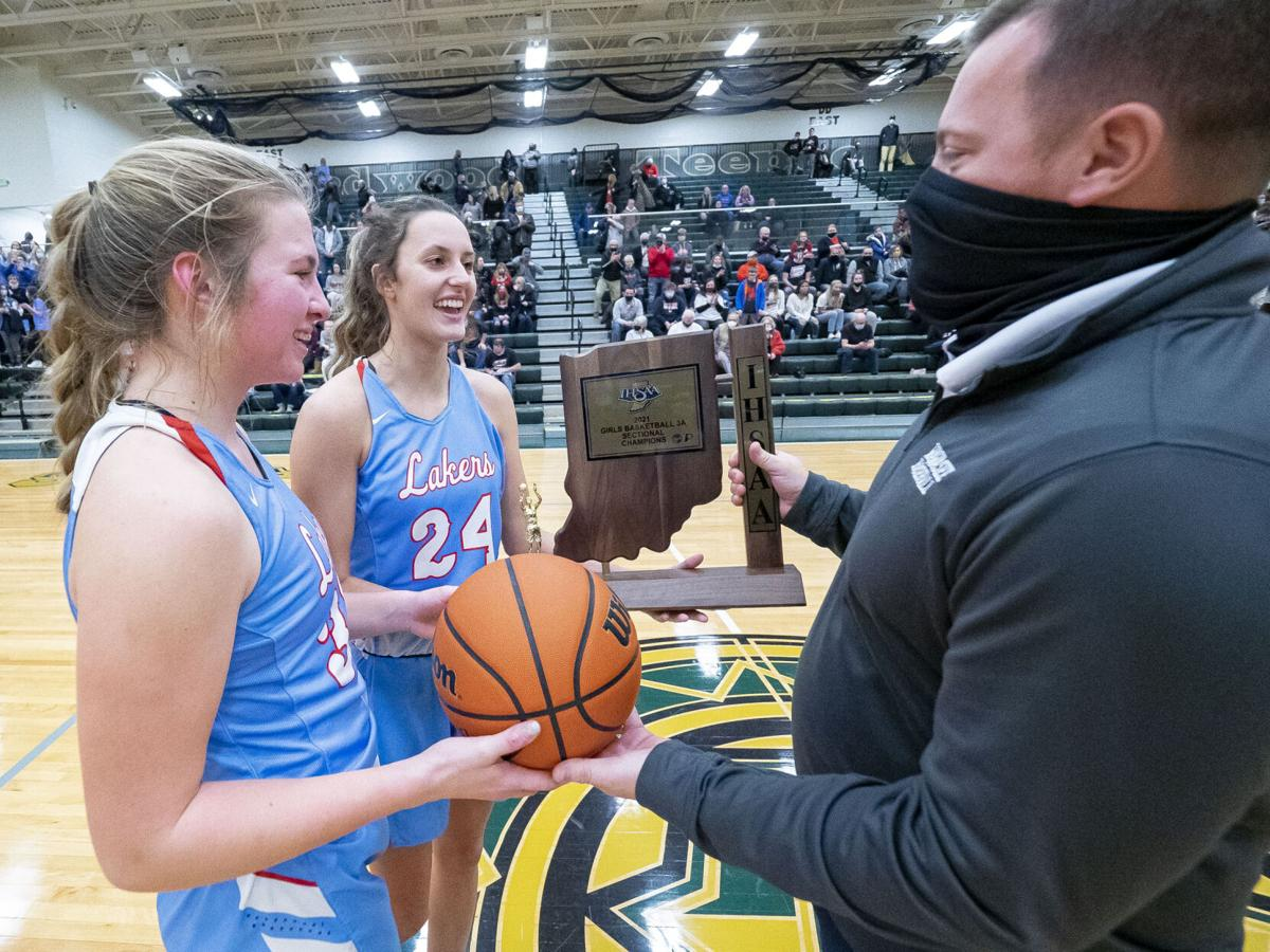 PREP GIRLS BASKETBALL: Lakeland fights off NorthWood, wins first sectional since 1996 (copy)