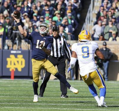 NOTRE DAME FOOTBALL: Irish not focused on outside noise