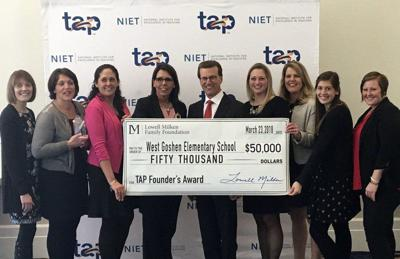 West Goshen wins TAP Founders Award