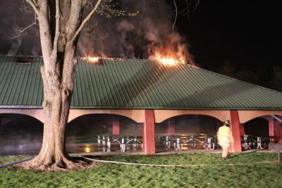 rogers park pavilion fire