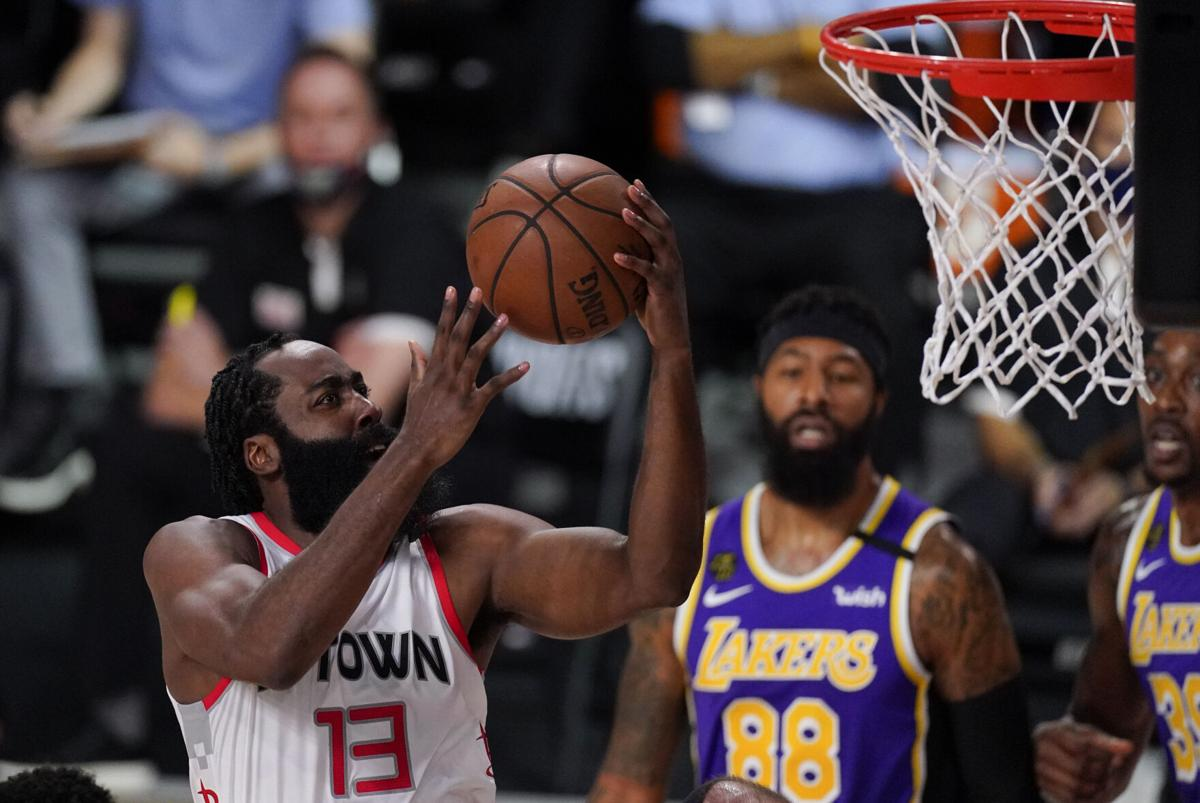 Nba Rockets Run Away From No 1 Seed Lakers Take Game 1 Sports Goshennews Com