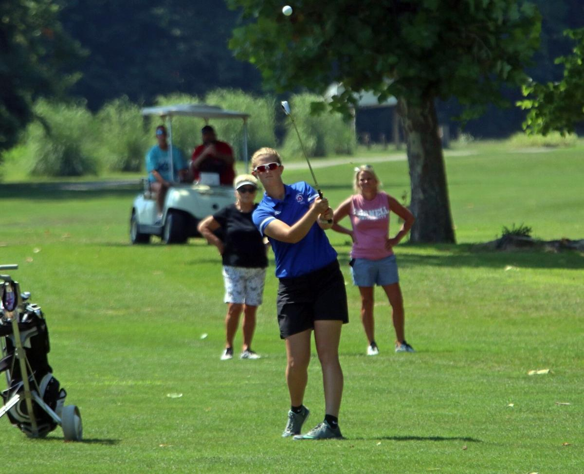 Kacee Click West Noble golf Wawasee invite 2020 (copy)
