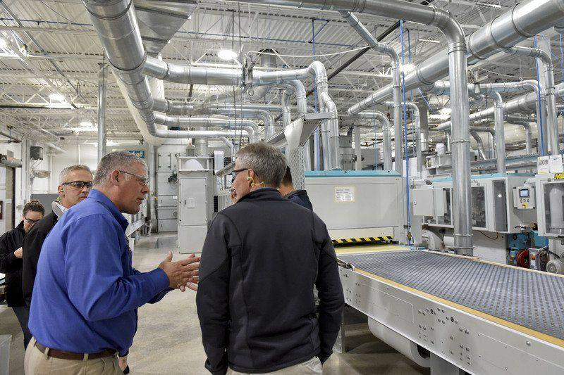 Masterbrand Cuts Ribbon On New Assembly Line Business