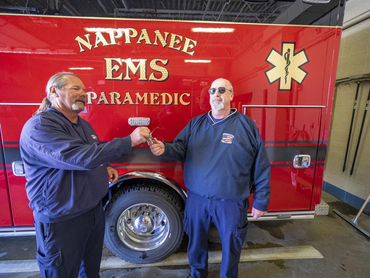 Longtime Nappanee EMS chief retiring
