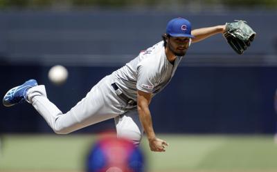 Cubs Padres Baseball