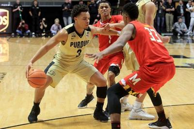 d60c86403ed MEN S BASKETBALL  Carsen Edwards to declare for NBA Draft without an agent