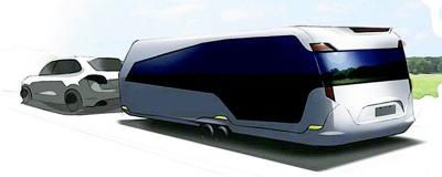 BIZ GN131228 carbon fiber trailer