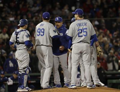 MLB: Dodgers go cold in Boston
