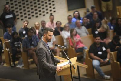 Mayor speaks at Goshen College