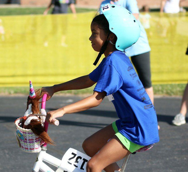'Team Unicorn' stands out at kids triathlon