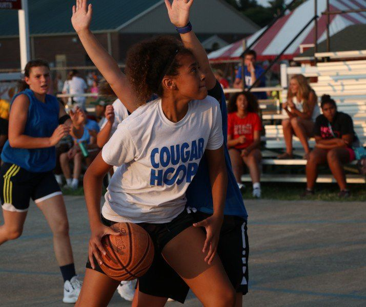 3ON-3 BASKETBALL: Brynn, Deecon, Kyra bond over basketball