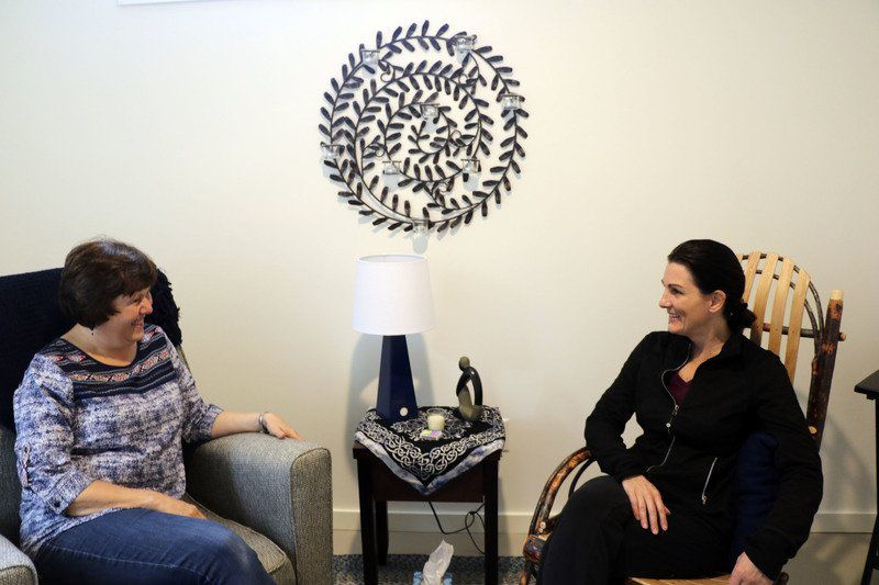HELPING HANDS: Retreat center nestled within city limits