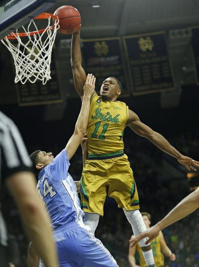 COLLEGE BASKETBALL: Notre Dame beats No. 2 North Carolina